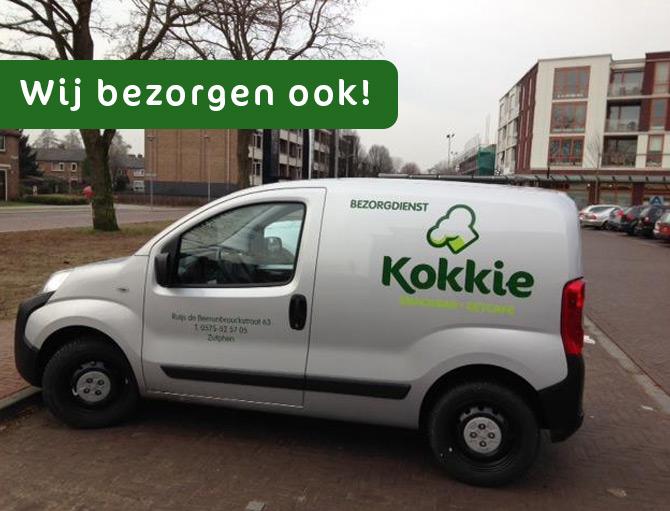 Kokkie Zutphen Thuisbezorgd
